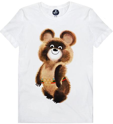 футболки с символикой олимпиады